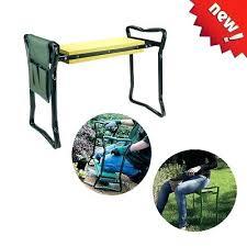 garden kneeler seat folding garden seat kneeling pad bench stool one side tool pouch garden kneeler garden kneeler seat
