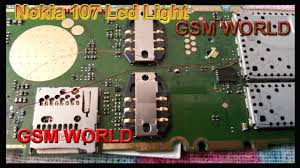 Nokia 108 Light Solution Without Transistor Nokia 107 Lcd No Light