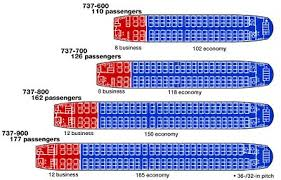 737 Max 200 Seating Chart Boeing737 600 900