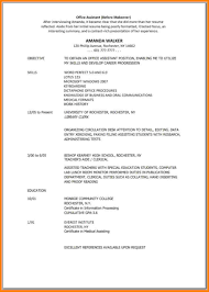 Resume Objective Administrative Assistant Example Of Smart Office