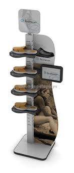 Footwear Display Stands 100 best shoe display rack images on Pinterest Display case 72