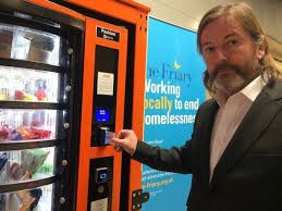 How To Use A Vending Machine Cool This Is The World's Firstever Vending Machine For The Homeless