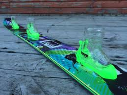 shotz ski like this custom one for the tgr world tour are made right here in the usa