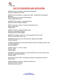 Synonyms For Experienced Resume Elioleracom Resume Synonyms