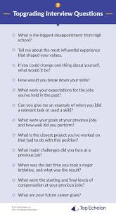 Topgrading Chart Topgrading Interview Questions Interview Techniques