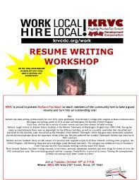 Resume Writing Workshop Presentation Bongdaao Com