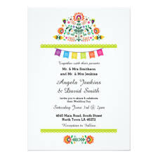 mexican wedding invitations. fiesta mexican wedding party colorful invitation invitations
