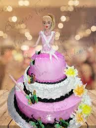 Buy Rosette Barbie Birthday Cake Online Shop For Barbie Cakesbakers Fun