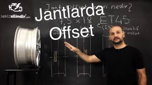 Jant Offset değeri nedir? - YouTube