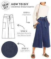 Wrap Around Pants Pattern