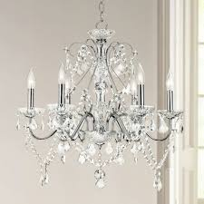 vienna full spectrum 23 1 2w chrome and crystal chandelier pertaining to fashionable