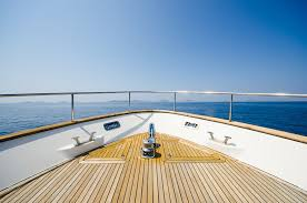 the element of boat quality plywood structurals painted with gel coat