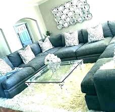 grey sectional couch leather furniture stunning dark gray with chaise couches for
