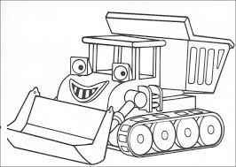 Small Picture Bob The Builder A4 Colouring Pages Coloring Pages