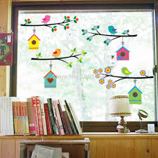 Small Picture Bird Window Decal Reviews Online Shopping Bird Window Decal
