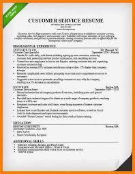 6 Resumes Customer Service Skills Activo Holidays