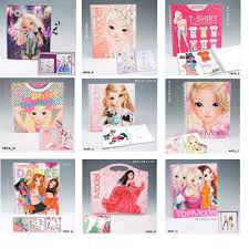 top model colouring books stickers pencils pens accessories by depesche ebay