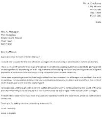 Sir Or Madam Cover Letter Credit Manager Cover Letter Example Icover Org Uk