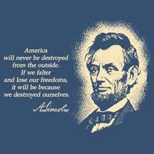 Abraham-Lincoln-America-Never-Destroyed-From-Outside-T-Shirt-Logo-366x366.jpg via Relatably.com