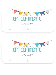 Print Gift Certificates Online Download Them Or Print