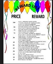 Token Reward System Chart Token System Chart A Good List Of Tween Teen Reinforcers