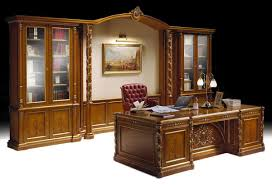 classic office desks. Ginevra Office, Luxury Classic Office Furniture, Inlaid Bookcase And Desk Desks IDFdesign