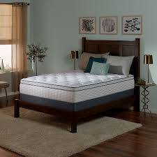 Serta Perfect Sleeper Wynstone II Cushion Firm Eurotop Full Mattress ...