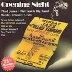 Opening Night: Thad Jones/Mel Lewis Big Band at the Village Vanguard February 7, 1966