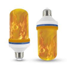 Nieuwe Ontwerp 4 Modi E26e27e14e12 Led Vlam Lamp Ondersteboven