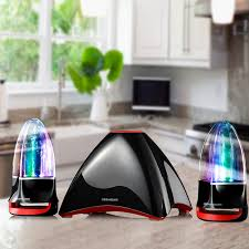bluetooth speakers with lights and water. original sunsure q86 water dancing bluetooth speakers,spray stereo subwoofer led light-show fountain tf/hands-free speaker speakers with lights and
