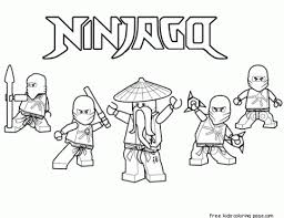 Kids love coloring pages featuring their favorite television or film characters as these activity sheets allow them to indulge their fantasy while learning about the proper methods of coloring this website offers some of the best and most unique coloring sheets featuring different ninjago characters. Didi Coloring Page Printable Ninjago Team Coloring