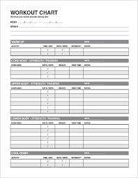 exercise schedule template oyle kalakaari co