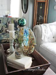 Ocean Decor For Living Room Beach Cottage Decor Waterside Blog Tour What Meegan Makes