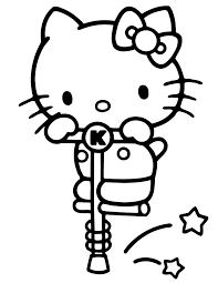 Hello kitty is a member of a large family whose members are all named white. Free Printable Hello Kitty Coloring Pages Love Hello Kitty Coloring Pages 670x867 Wallpaper Teahub Io