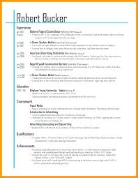 Resume Formatting Magnificent Layout For A Resume Pelosleclaire