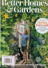 better homes and garden magazine. Plain Homes Better Homes And Gardens Magazine Issue FEB 18  Intended Garden E