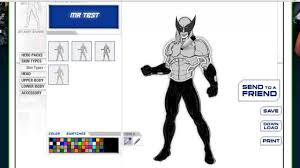 Design Own Superhero Costume How To Create A Superhero Online In A Minute