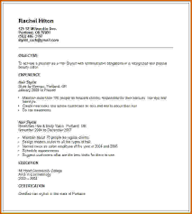 Gallery Of Cosmetologist Resume Help Cosmetologist Resume Template