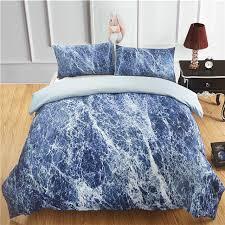 nattey duvet cover set marble bedding
