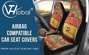 arms albania flag car seat covers set