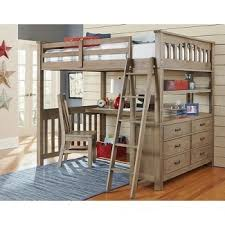 full size bunk bed with desk. Delighful Desk Adult Full Size Loft Bed With Desk U2013 Home  For Bunk L