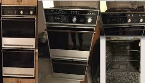 vintage thermador double wall oven