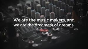 Music Dreams Quotes