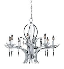 paris collection 8 light chandelier