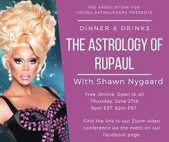 Rupaul Birth Chart Aya Dinner Drinks The Astrology Of Rupaul