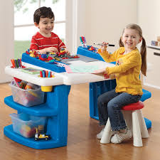 com step2 build and block and activity table toys
