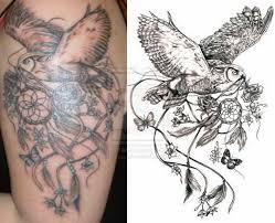 Aztec Dream Catcher Tattoo Dream Catcher With Flowers Tattoo OwlAndDreamcatcherTattoo 41