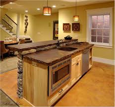 Country Kitchen With Island Creative Kitchen Island Countertops
