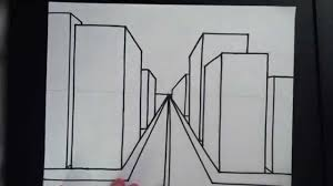 drawn 3d art building 2
