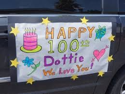Pleasanton Woman Turns 100, Surprised With Drive-By Parade | Pleasanton, CA  Patch